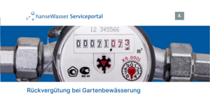 hanseWasser Serviceportal