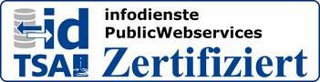 Zertifizierung Schnittstelle Infodienste
