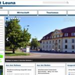 Stadt Leuna nutzt brain-GeoCMS®