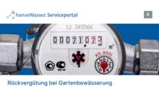 hanseWasser mit neuem Serviceportal