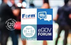 Form-Solutions eGovForum 2020 - Workshops - Praxisbeispiele - Erfahrungsaustausch