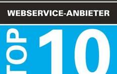 Kunden wählen brain-SCC unter die Top 10 Webservice-Anbieter