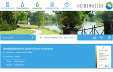 Heidewasser - modern, responsive und informativ