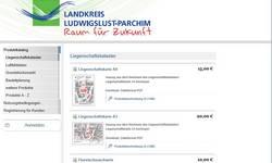 Geoshop Landkreis Ludwigslust-Parchim